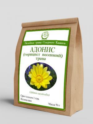 Адонис (горицвет весенний) (трава) (50г)