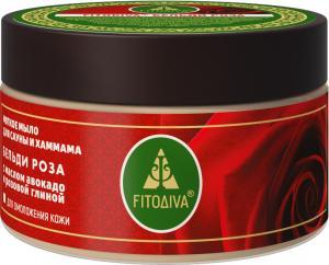 БЕЛЬДИ РОЗА с маслом авокадо и розовой глиной мягкое мыло 200 г