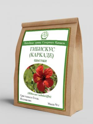 Гибискус (каркаде), (цветки) 50 г
