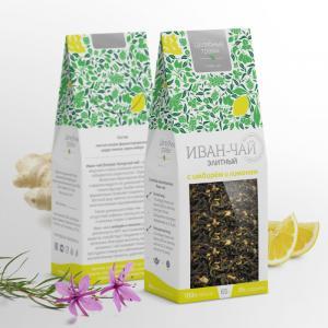 Наименование Иван-чай элитный с имбирём и лимоном 75 г