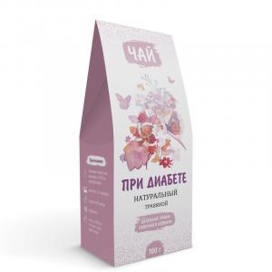 При диабете (травяной чай) 100 г