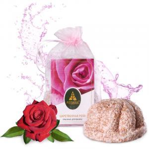 """""""Царственная роза"""" пралине для ванны 130 г"""