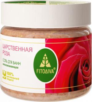 """Царственная роза"" соль для ванн омолаживающая 400 г"