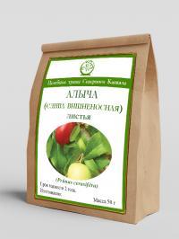 Алыча (слива вишненосная), (листья) 50 г