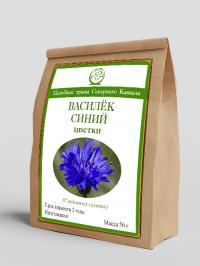 Василёк синий (цветки) 50 г