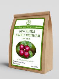 Брусника обыкновенная (листья) 50 г