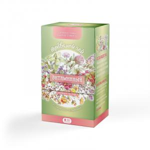 """""""Витаминный"""" травяной чай в фильтр-пакетах 60 г"""